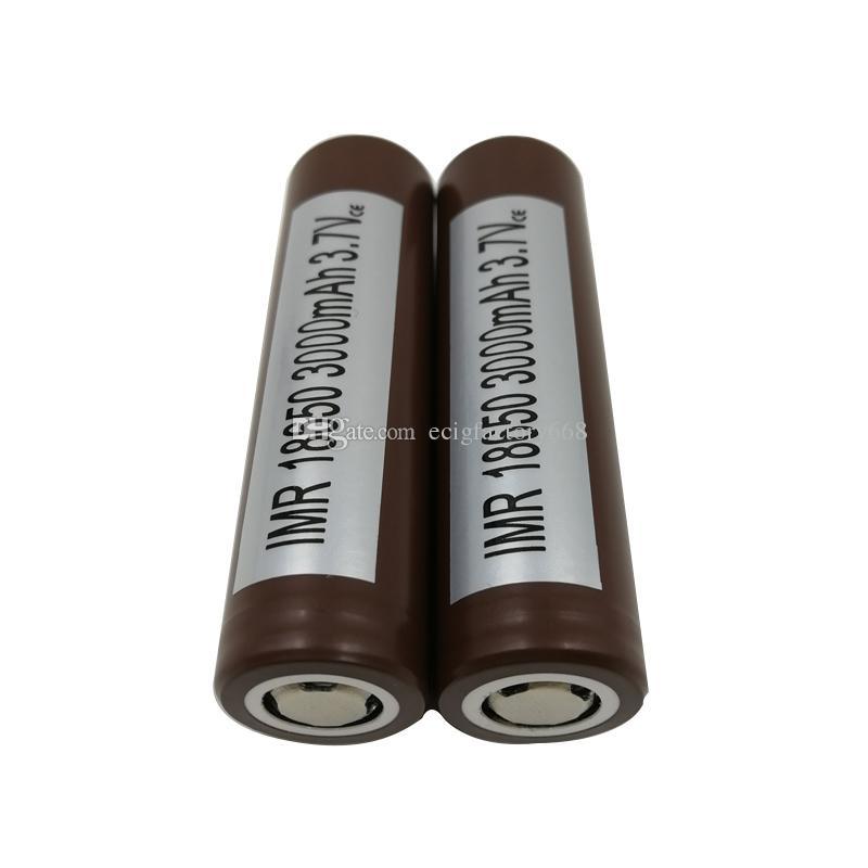 ارتفاع استنزاف البطاريات 18650 HG2 / 3000mAh قدرة ماكس 35A بطارية ليثيوم قابلة للشحن HG2 لشركة إل جي الكترونيكا