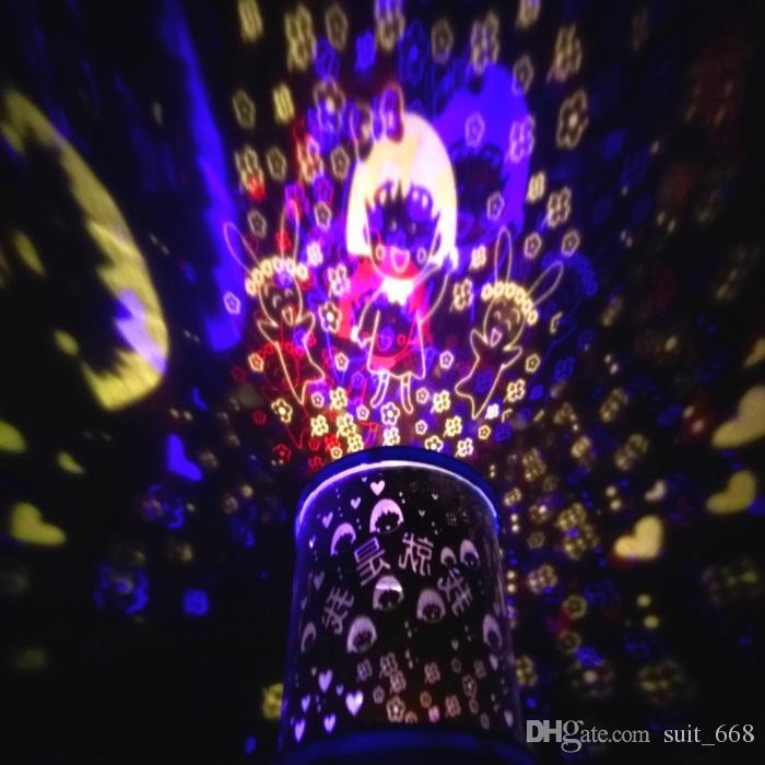 Authentische Musikrotation Star Iraqis Projektorlampe super helle Innenversion von Star Light Schlafzimmerlampe Schlaf Licht Geschmack