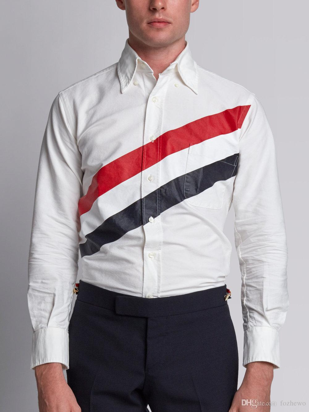 025363ded0 2017 New Arrive Autumn Long Sleeve Shirts Men Slim Casual Cotton ...