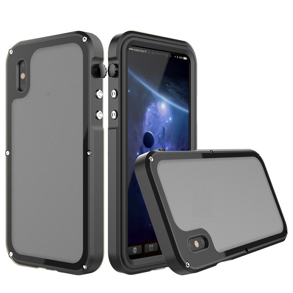 premium selection bb290 28f70 AICOO Waterproof Case For IPhone X 7 8 plus Seal IP68 Dive Swimming Ultra  thin Shockproof Cover with Beautiful Retail Packaging