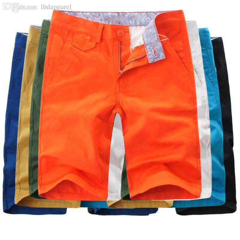 c7b0baeee2 2019 Wholesale 2015 Summer Fashion Mens Shorts Casual Sport Bermuda  Masculina Leisure Outdoors Beach Cotton Joggers Trousers Knee Length Shorts  From ...