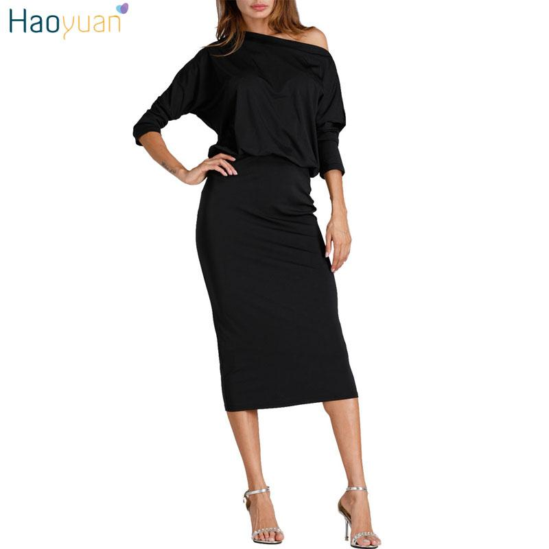 Outfit vestido negro oficina