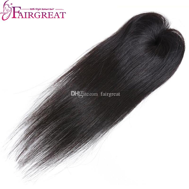Fairgreat Pre-colored Remy Glattes Haar 6 Bundles Mit Verschluss Menschliches Haar Bundles Mit Spitze Schließung jungfrau Brasilianische menschenhaarverlängerungen