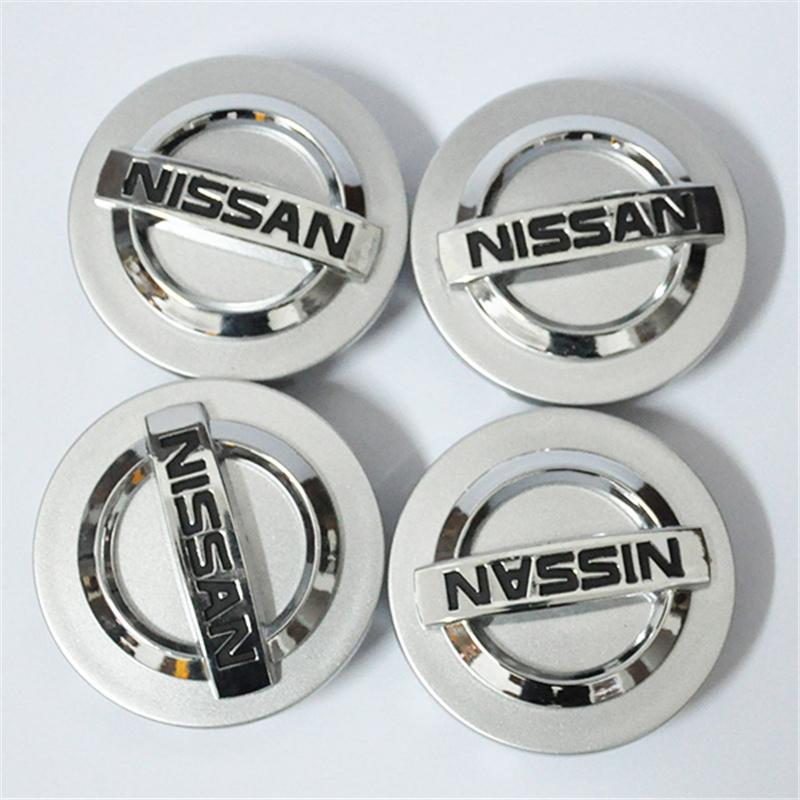 4Xgrace Versa und versa, le wei, sylphy, A32 für Nissan Rad Center Radnabenabdeckung Radnabenabdeckung Altima Maxima Murano 350Z Sentra 55/58/60 mm