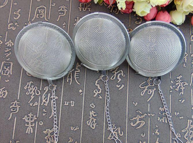 DHL Best Price Stainless Steel Tea Pot Infuser Sphere Mesh Strainer Ball 5cm