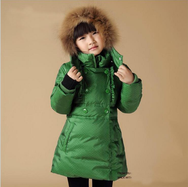 Children Down Coat Girl Winter Coat Baby Girl Cotton Coat Fashion ...