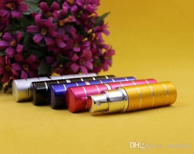 line 10CC 10ml Botella de perfume portátil Después de afeitar / Maquillaje / Perfume Botellas vacías Atomizador en spray Aceites esenciales Difusores Fragancias para el hogar