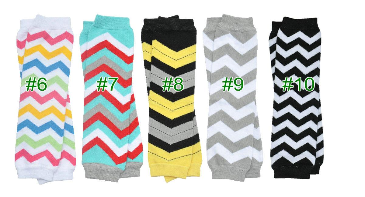 wholesale Baby Chevron Leg Warmer infant girl boy colorful leg warmer children socks Legging Tights Leg Warmers can mix color