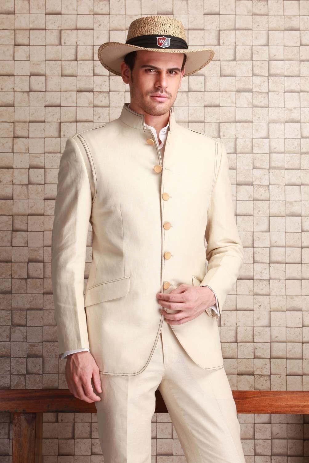 Men Wedding Suits Groom Coat Tuxedo Blazer Trouser Indo