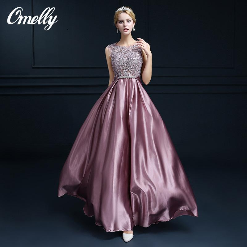 Brand Design Prom Dresses Illusion Bodice Lace Formal Prom Dresses ...