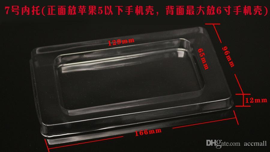 عالمي كبير ورقة البلاستيك حزمة البيع بالتجزئة صناديق التعبئة والتغليف مربع نفطة لفون 6 6 زائد 6+ 5 5 ثانية 5c 4 4 ثانية سامسونج s5 s4 s3 ملاحظة 3 2 xiaomi3