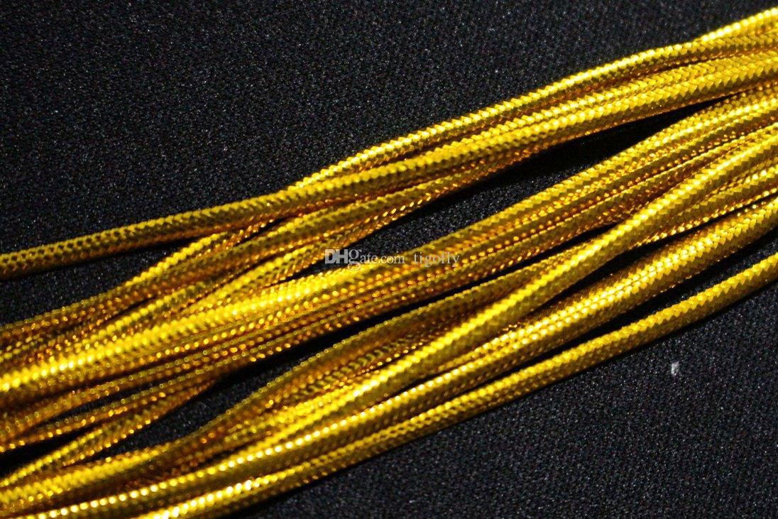 Tigofly 4 м 5 цветов майлар голографическая овальная мишура плетеный синель кристалл флэш-линия сухой стример ребро тела летающие материалы