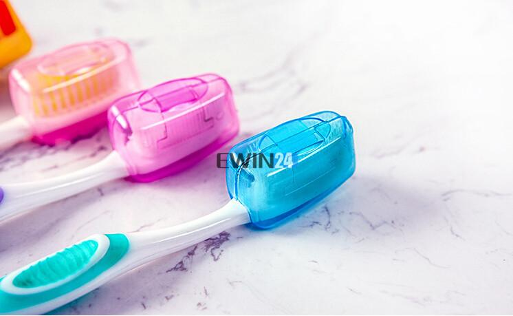 Portable Plastic Toothbrush Head Covers For Travel Camping Home Brush Cap Organizer Case Box New