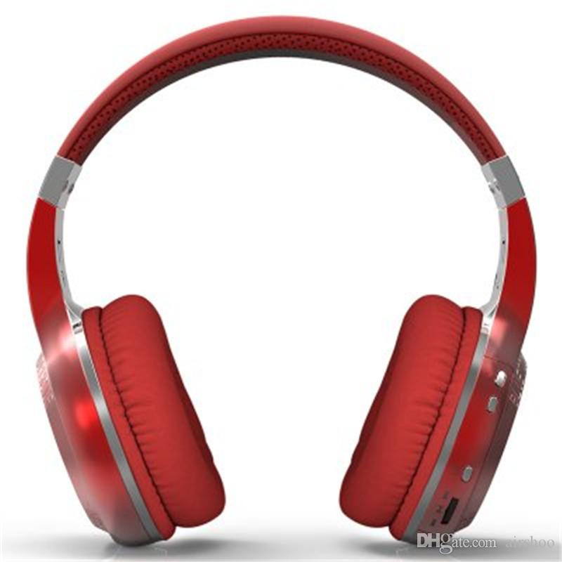 MOQBluedio HT 블루투스 헤드폰 소매 상자 bludio ht 완벽 한 저음 DHL 무료 4 색 무선 헤드셋