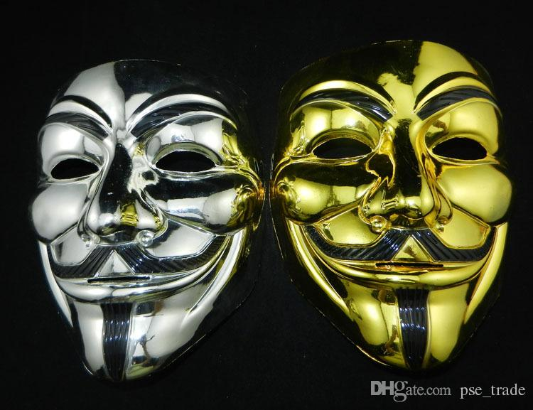 Halloween Christmas Cool Mask V For Vendetta Anonymous Movie Guy ...