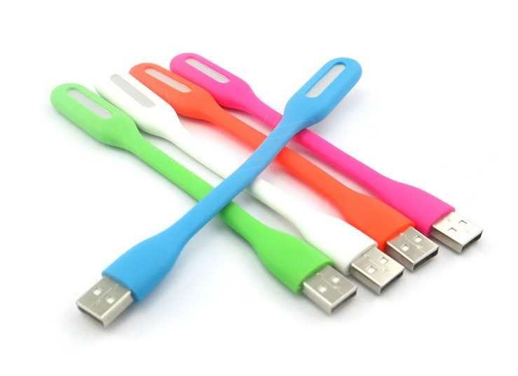 USB LED Lampada luce portatile flessibile Led notebook Laptop Tablet PC USB Power con scatola al minuto