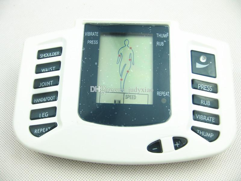 JR309 Electrical Stimulator Full Body Relax Massager Health Muscle Therapy Massager Electro Pulse TENS Acupuncture Massage
