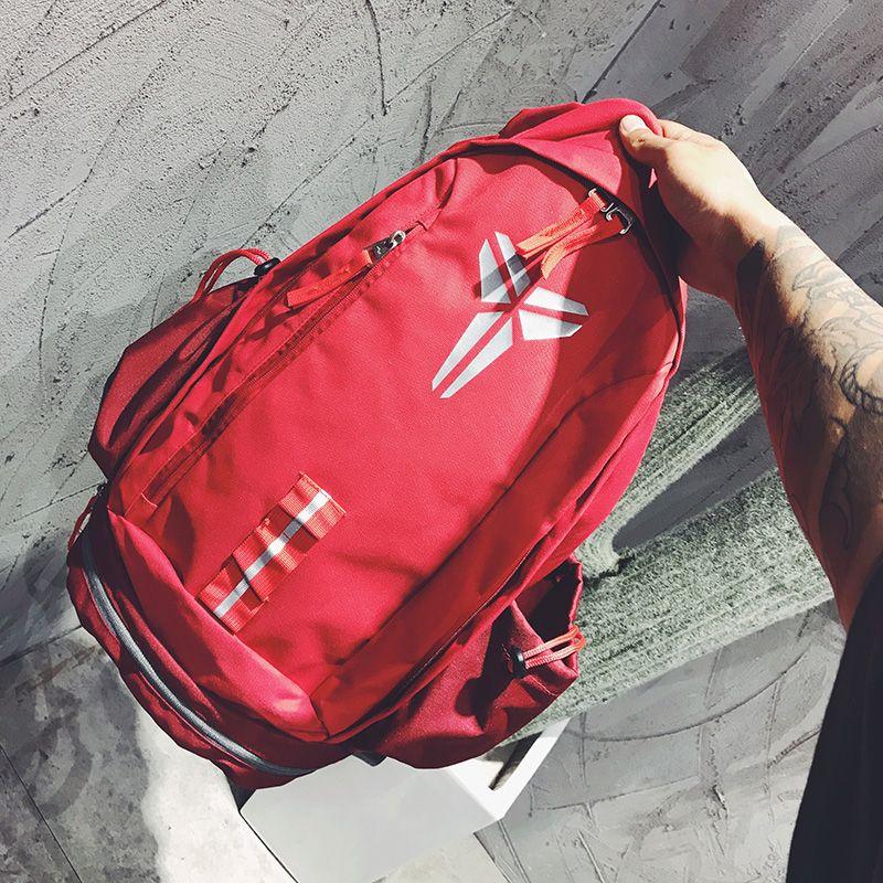 Yeni Stil KOBE Çantası Erkekler Sırt Çantaları Basketbol Çantası Spor Sırt Çantası Okul Çantası Genç Açık Sırt Çantası Için Çok Fonksiyonlu Paket Sırt Çantası