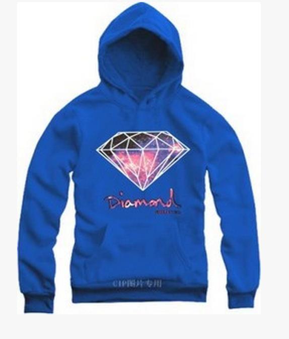 2016 más calientes de otoño Hip-hop Diamond Supply Co sudaderas de gran tamaño Sport Mens sudaderas con capucha Sweatshir