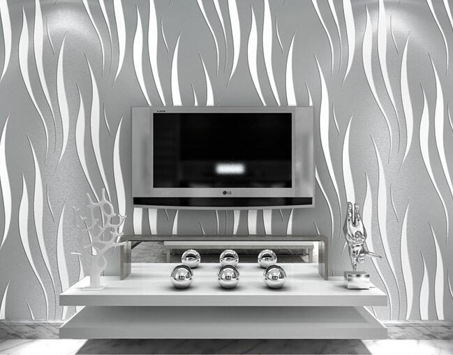 3D Wallpaper Home decor TV background Non woven wall paper roll