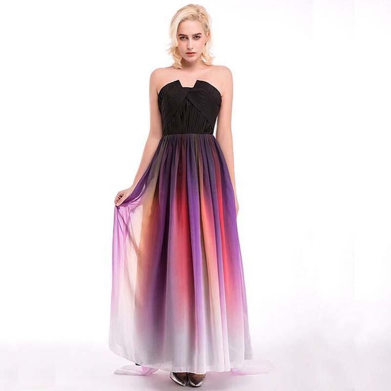 Customized Off Shoulder Evening Dress Straight Design Young Ladies