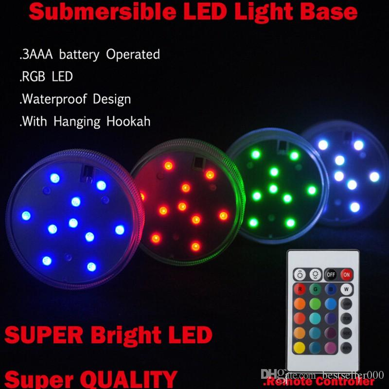 Rgb multi colors remote control submersible led gadget light led rgb multi colors remote control submersible led gadget light led vases base light for wedding party celebration supplies led strip lights light bulbs from aloadofball Gallery