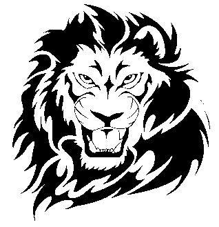 2019 car styling decals stickers lion head 15cm x 14cm car