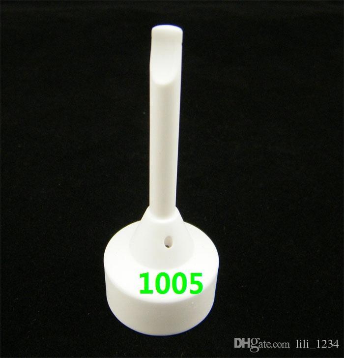 TOP Qualität 14mm 18mm domeless Keramik Nagel mit männlich-weiblichen Gelenk- und Titan Nägel Titan carb Kappe Nagel VS Titannagel Auf Lager