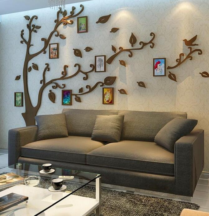 new arrival family photo tree wallpaper for tv backdrop sofa 3d