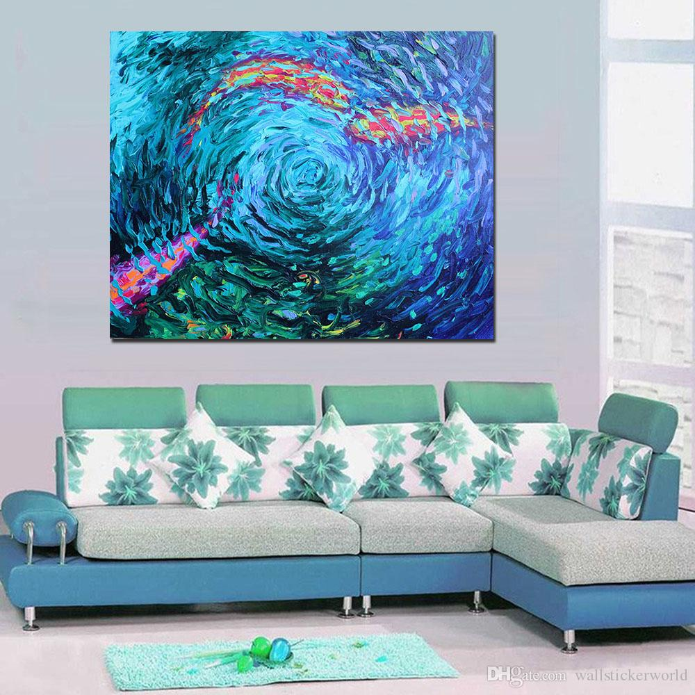 1 Pcs Lris Scott Koi Coy Study Canvas Art Home Decor Wall Art Painting Wall Painting Picture Modern Artworks No Frame