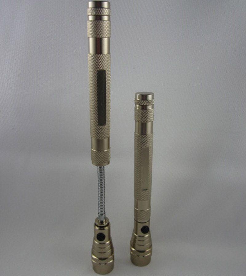 Flexible Taschenlampe 3 LED Light Teleskop Magnetic Pick Up Tool Lampe Taschenlampe tragbare Lichter Kostenloser Versand