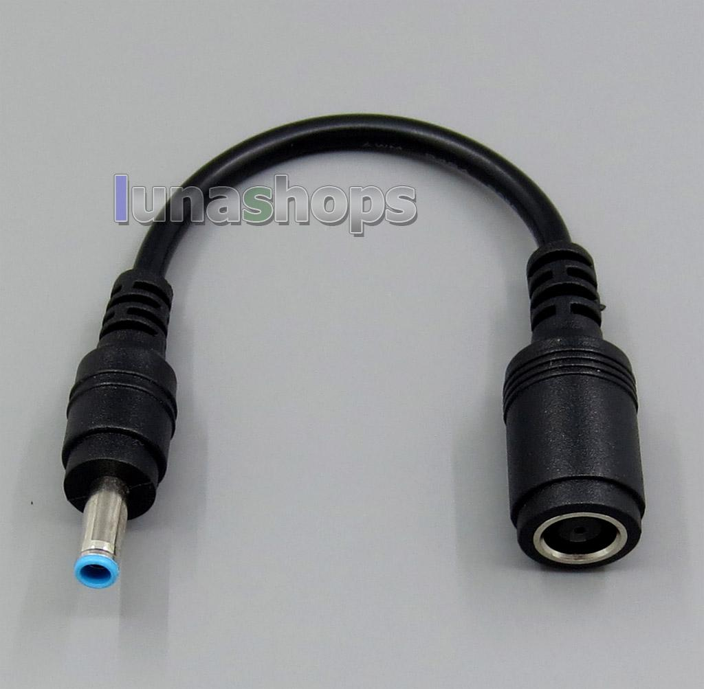 Dc Power 7.4 X5.0mm Female Jack To 4.5x3.0mm Male Adapter Short ...
