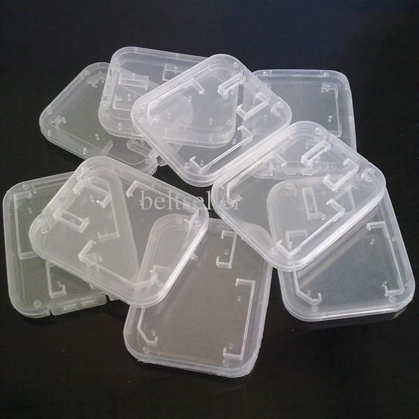 Memory Card Clear Plastic Packing Boxes Retail Package Box