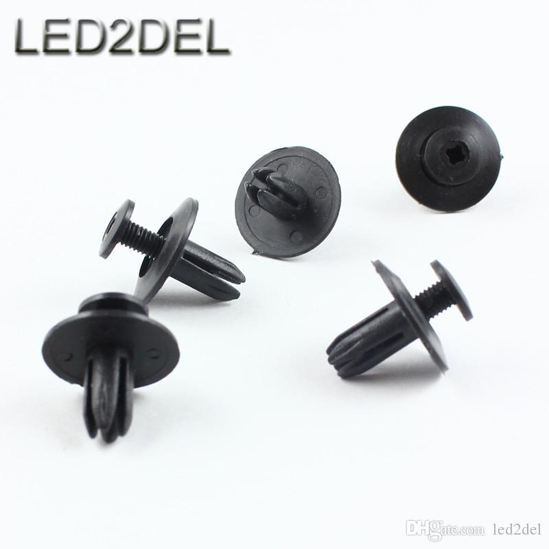 auto plastic fastener clip 6mm hole for mazda gm toyota screw push type expansion rivet door. Black Bedroom Furniture Sets. Home Design Ideas