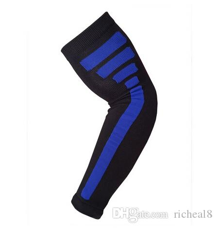 hot selling 2017 new Elite style arm sleeve Nylon Compression Arm Sleeve Basketball Golf Baseball Sun Protection Elbow Pad Protective