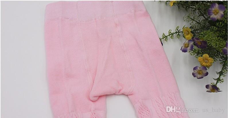 Pantalone bambina primavera estate leggings bimba in cotone tinta unita calzamaglia bimbo modello diamante leggings graziosi pantaloni i 6 pezzi