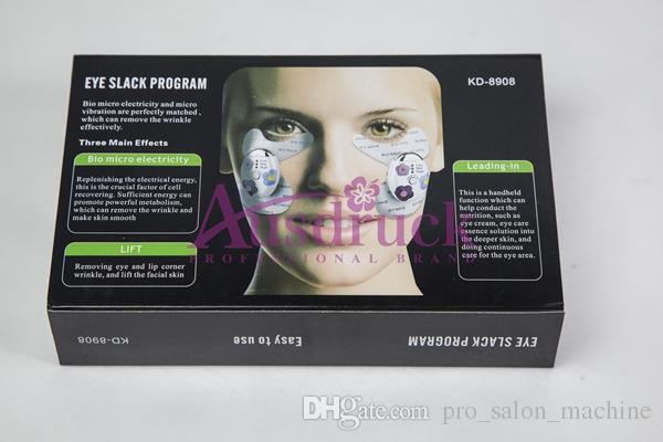 素敵なスキンケアマスクアイパッチアイパッフィネスしわの取り外し微小電流の目の注意顔美取り装置熱い販売