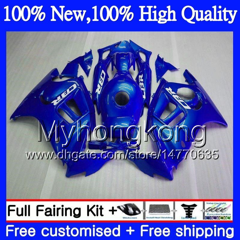 Bodys Motorcycle for HONDA CBR600 F3 CBR600RR F3 CBR600FS 95 96 Gloss blue 47MY8 CBR 600F3 FS CBR600F3 CBR 600 F3 1995 1996 Hot Fairing kit