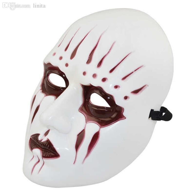 wholesale holloween scary demon mask rock music slipknot band mask masquerade horror scary party mask halloween mask party costume props - Costume Props
