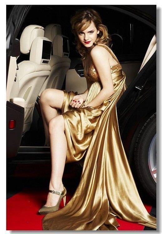 2018 Emma Watson In Car Fashion Art Silk Poster Harry Potter Movie