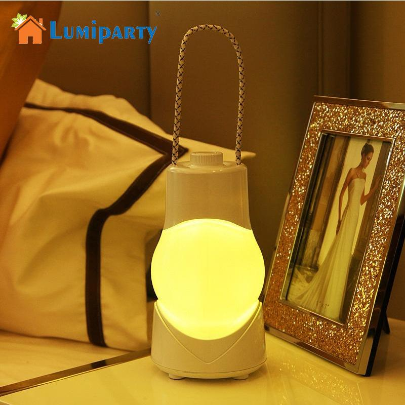 Lovely Best Wholesale Lumiparty Led Nightlight Portable Night Lamp With Usb  Charging Handle Dimmable Tabletop Hand Lantern For Bedside Home Decor Under  $39.58 ...