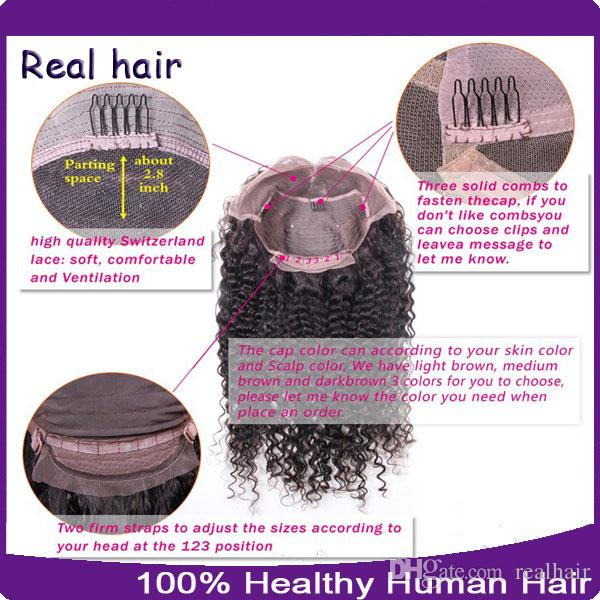 Wholesale Human Hair Wigs Unprocessed Brazilian Full Lace Wigs Wave Lace Front Wig For Black Women With Baby Hair 8A Top Quality