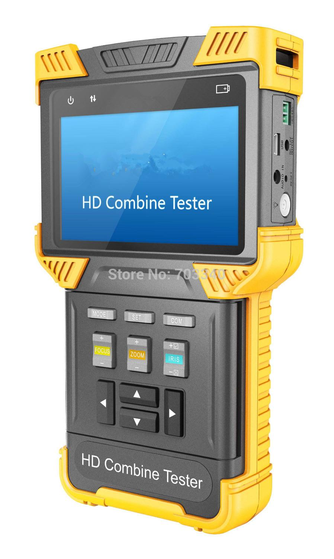 2019 4 Inch 3 In 1 Hd Tester Cctv Tester Monitor Ip Cvi