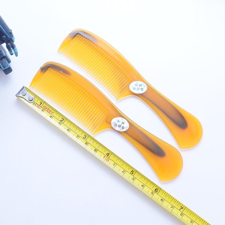 Cheap Yellow Unbreakable Soft Small Comb Gift Travel Brush For Hair Trimming Short Comb