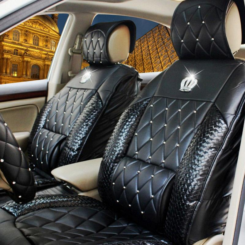Rhinestone Car Seat Covers