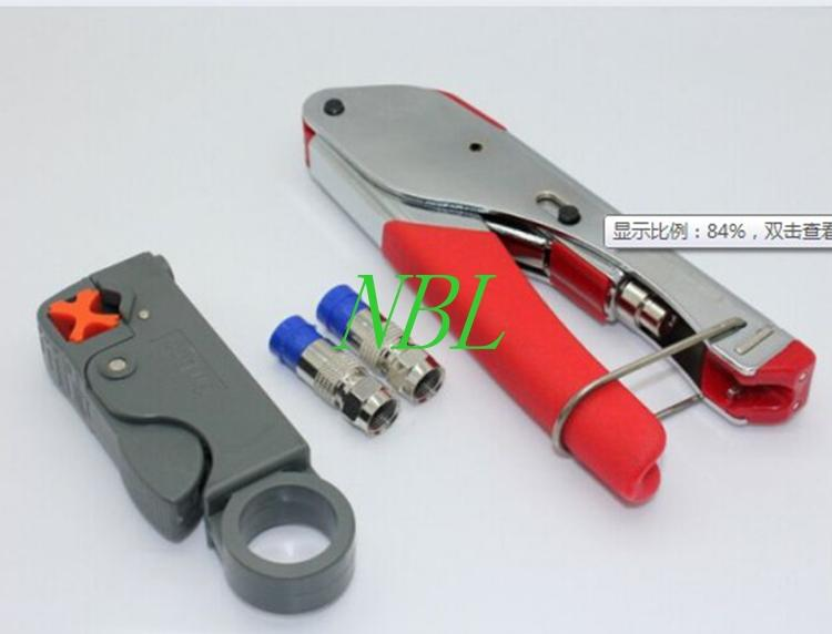 2018 Coaxial Cable Wire Stripper Rg6/Rg59 Compression F Connector ...