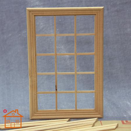 1 12 dollhouse diy handmade wood mini window diy house for lattice