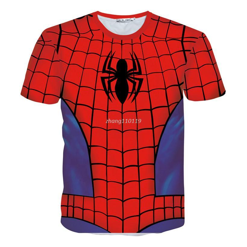 tshirts summer mens spiderman t shirt mens 3d t shirt casual women men short sleeved shirt. Black Bedroom Furniture Sets. Home Design Ideas