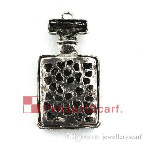 Fashion Style Necklace Pendant Scarf Jewelry Accessories Bling Rhinestone NO.5 Charm Perfume Bottle Scarf Pendant, AC0361