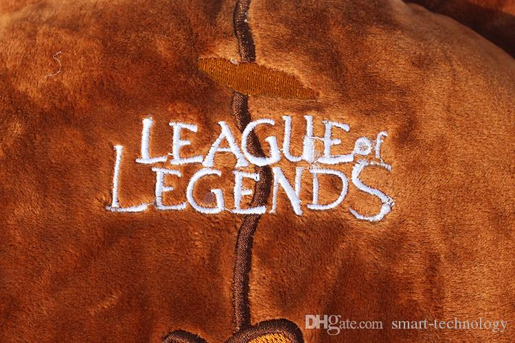 40 * Of Legends 25cm Anime Oyun Lig LOL Annie Ayı Yastık Peluş Oyuncak Yumuşak Doldurulmuş Bebekler Ücretsiz Kargo